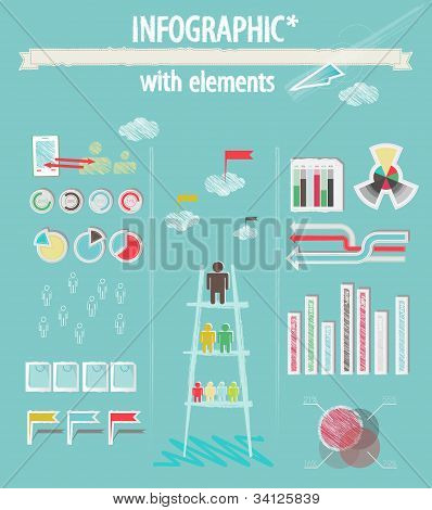 Infographic with elements