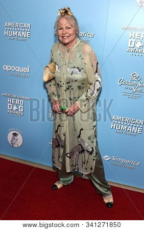 LOS ANGELES - OCT 05:  Michelle Phillips arrives to the American Humane Hero Dog Awards  on October 5, 2019 in Hollywood, CA