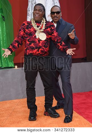 LOS ANGELES - SEP 28:  Tracy Morgan and Eddie Murphy arrives for 'Dolemite Is My Name' Los Angeles Premiere on September 28, 2019 in Westwood, CA