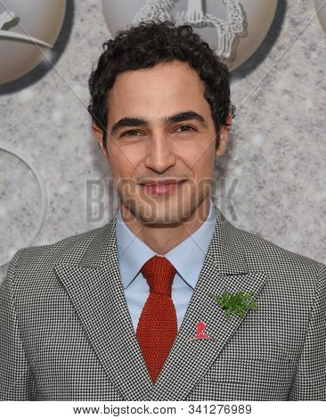 LOS ANGELES - DEC 07:  Zac Posen arrives for the Brooks Brothers Holiday Celebration Honoring St. Jude on December 07, 2019 in West Hollywood, CA