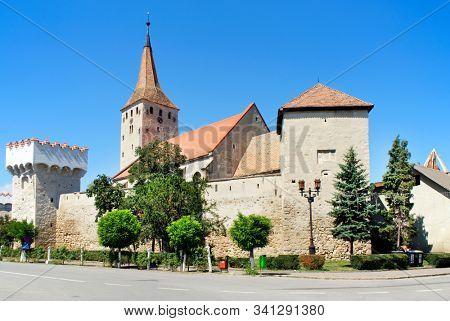 The Fortress of Aiud, Romania, Europe