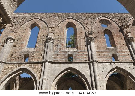 Abbey of San Galgano, Tuscany.