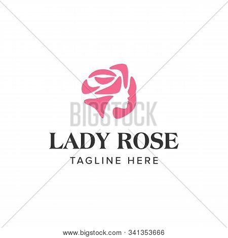 Lady Rose Logo Iconic Vector Photo Free Trial Bigstock