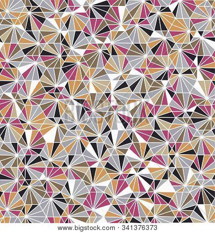 Funky Geo Hexagon Barnacle Underwater Sealife Tile
