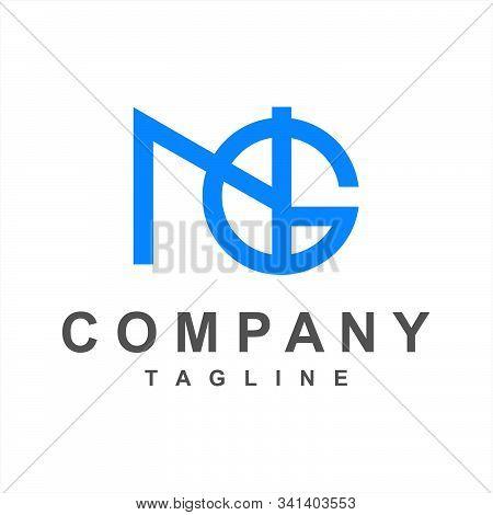 Simple Ng, Gn, Ngi Initials Company Logo
