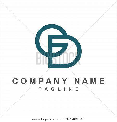 Simple Gd, Cd, Ed Initials Company Logo