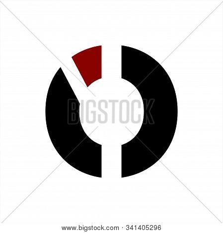 Io, Ic, Oic, Ico, Ioc Initials Geometric Letter Company Logo And Icon