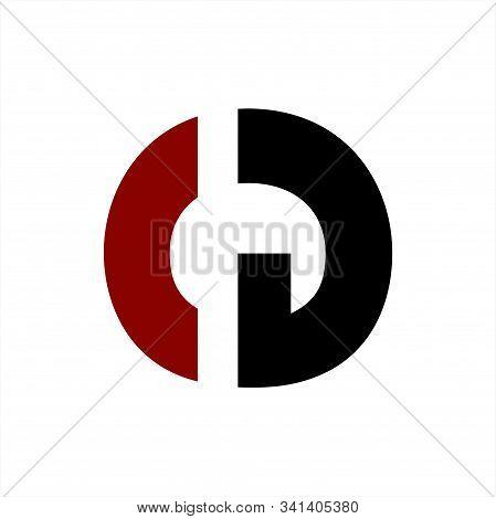 Cg, Gc, Cgo, Ocg Initials Geometric Letter Company Logo And Icon