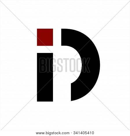 Id, Di, Ic, D Initials Geometric Letter Company Vector Logo And Icon