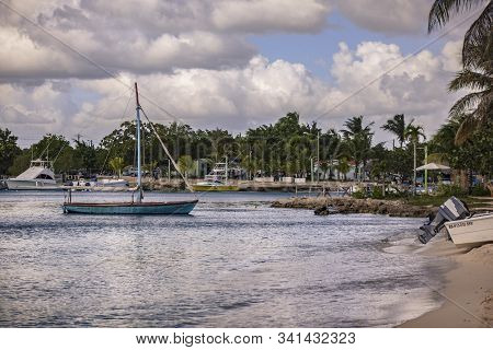 Boat In Bayahibe Port 2