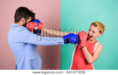 Sportswear. Knockout Punching. Who Is Right. Win The Fight. Strength And Power. Bearded Man Hipster