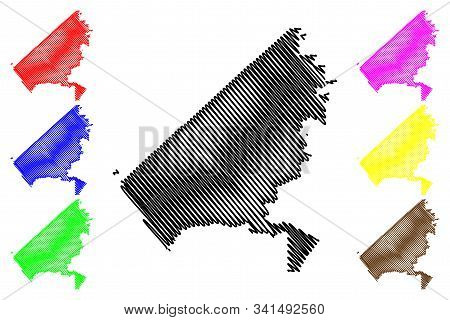 Oceanside City (united States Cities, United States Of America, Usa City) Map Vector Illustration, S