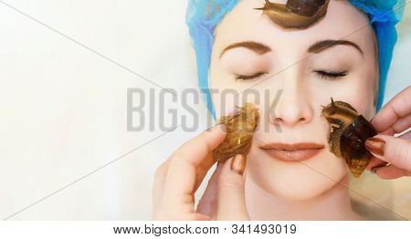 Lifting And Facial Massage Of A Young Woman Rejuvenates The Skin In An Unconventional Way Of The Ach