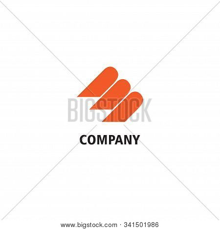 Financial Consultant Company Logo Design Template, Human Resource Training, Life School, Online Ment