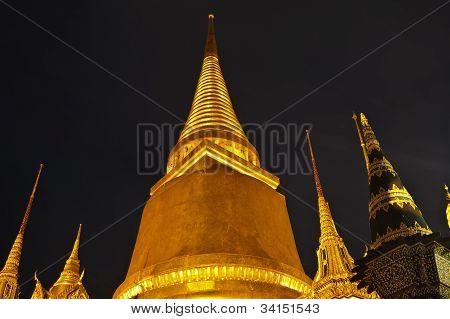 Temple Of The Emerald Buddha In Bangkok