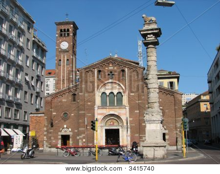 Milan Old Church