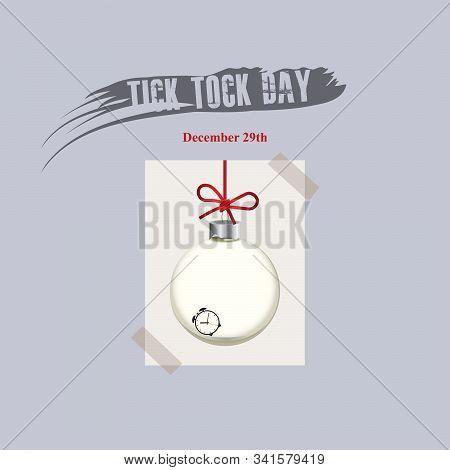 December 29th Celebrates Tick Tock Day Event