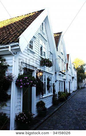 Old house in Stavanger