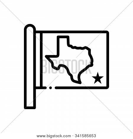 Black Line Icon For State Kingdom Dominion Realm Country