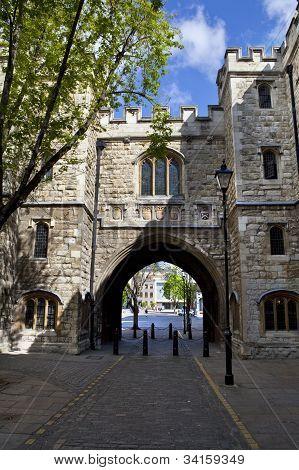 St. John's Gate In London