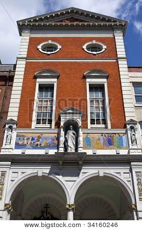 St. Peter's Italian Church In Clerkenwell, London.