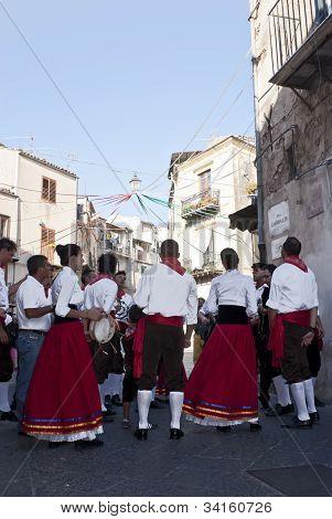 Sicilian Folk Group From Polizzi Generosa