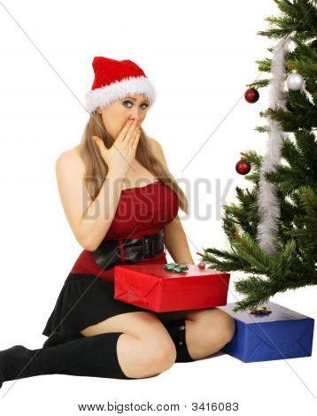 Mrs Santa Surprised