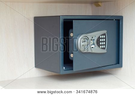 Safe In The Closet Of A Hotel Room, Safety And Security