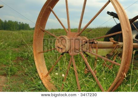 View Of A Wheel