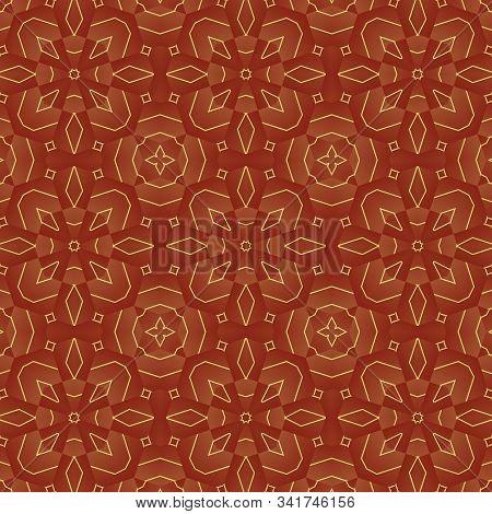 Kaleidoscope Seamless Patterns Abstract Multicolored Background. Magic Mandala