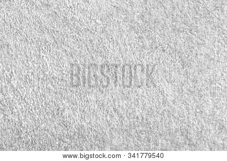 The Texture Of The Light Gray Carpet Is A Synthetic Carpet. Light Carpet Texture Pattern Design