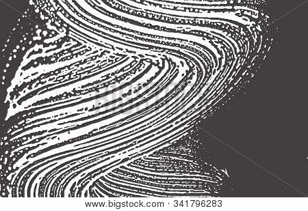 Grunge Texture. Distress Black Grey Rough Trace. Authentic Background. Noise Dirty Grunge Texture. V