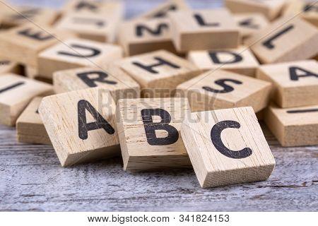 Wooden Letters, Alphabet, A, B, C Article