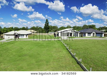 New Suburban Houses