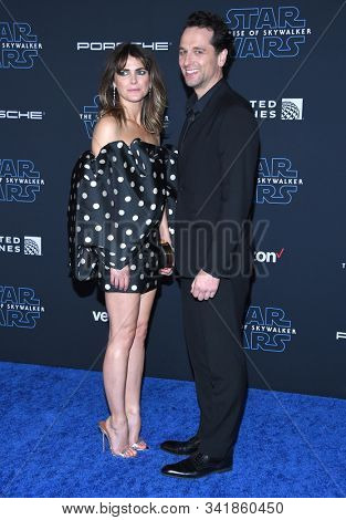 LOS ANGELES - DEC 16:  Keri Russell and Matthew Rhys arrives for the 'Star Wars: The Rise of Skywalker' Premiere on December 16, 2019 in Hollywood, CA