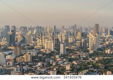 City Of Bangkok  Where Is The Capital City Of Thailand Covering With Air Pollution Creating Unclear