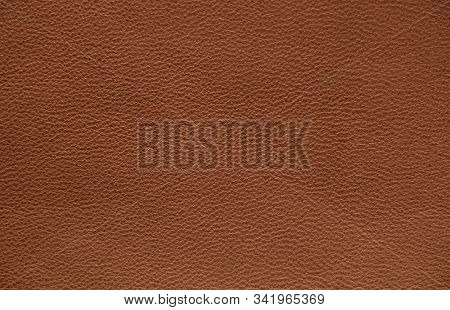 The Texture Of Genuine Leather. Impeccable And Stylish Background. Beautiful Stylish Background. Nat