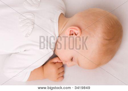 Cute Sleeping Angel Boy