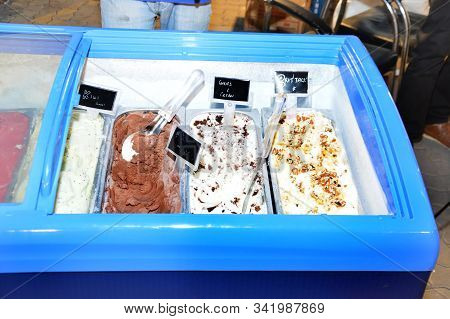 Ice Cream In Freezer For Sale Purpose