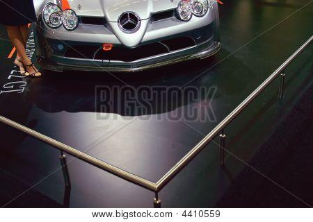 Front View Of Mercedes Mclaren