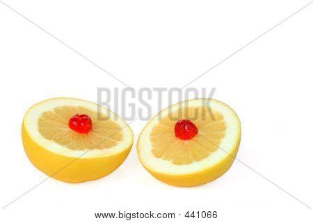 Double Grapefruit Dessert