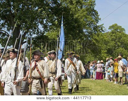 Monmouth Battle Scene
