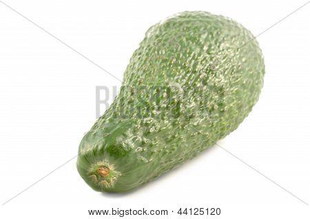 Fresh Avocado On A White Background