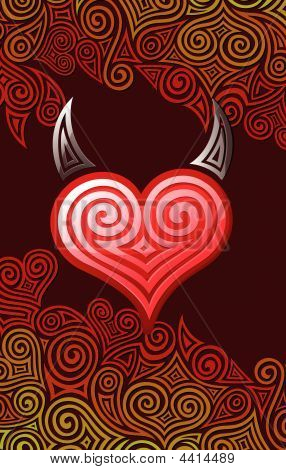 Heart With Horns