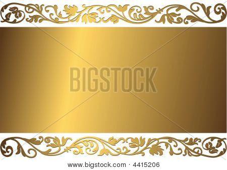 Gentle Golden Background (vector)
