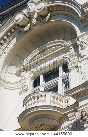 Old Townhouse With Balcony