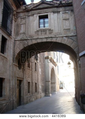 Archway At  Valencia Cathedral