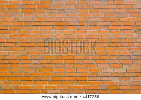 Orange Bricks For Background