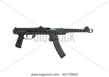 PPS-43 Russian Machine Gun