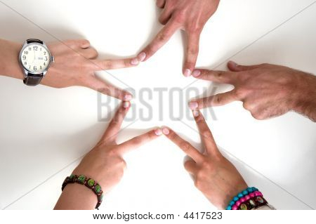 Star Of Hands